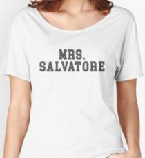 Camiseta ancha para mujer Mrs. Salvatore - The Vampire Diaries - The Originals
