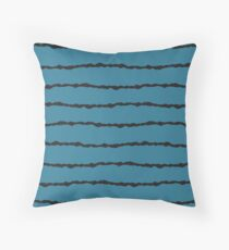 Wire & Sky Throw Pillow