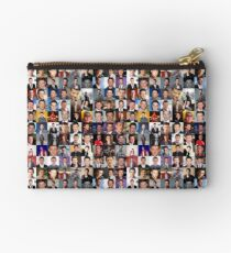 Cory Monteith Collage - Many Items Studio Pouch
