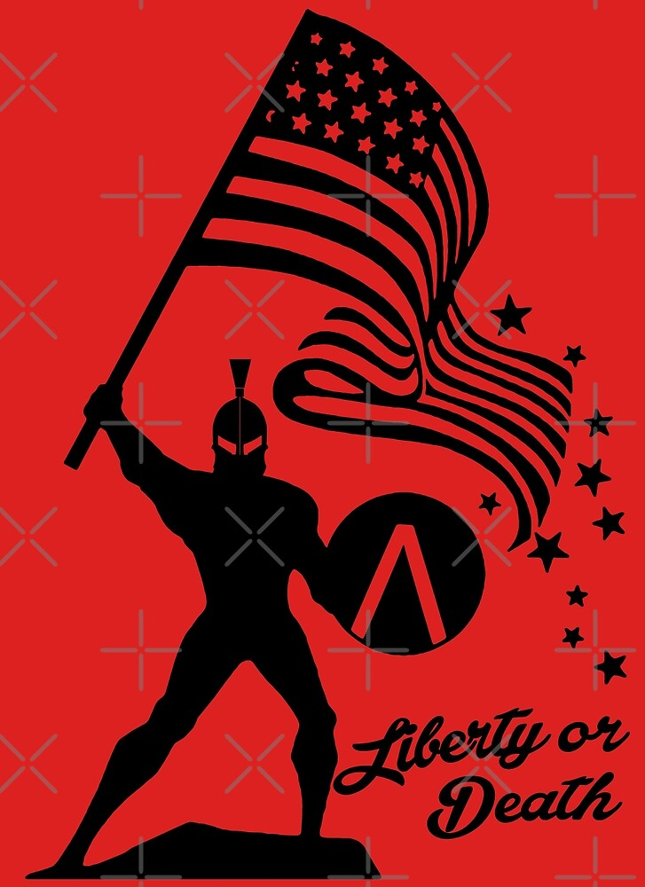 Based Liberty Stickman  by CentipedeNation