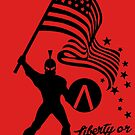 Based Liberty Stickman  by CentipedeNation
