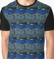 Castle ruin in moonlight Graphic T-Shirt