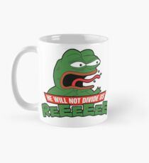 PEPE TMNT - He Will Not Divide Us Classic Mug