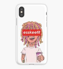 Lil Pump - ESSKEETIT box logo iPhone Case/Skin
