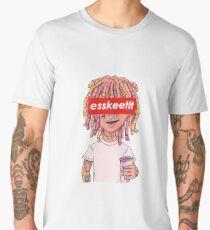 Lil Pump - ESSKEETIT box logo Men's Premium T-Shirt