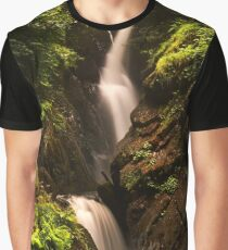 Aira Force After Rain.  Graphic T-Shirt