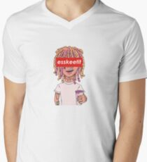 Lil Pump - ESSKEETIT box logo T-Shirt