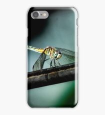 Dragonfly on a Wire iPhone Case/Skin