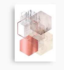 Geometric Abstraction Canvas Print