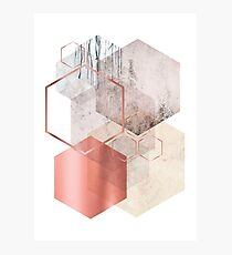 Geometric Abstraction Photographic Print