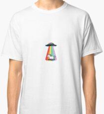 X-files Shirt I Want To Believe Tshirt Unicorn Funny Shirt UFO T Shirt Alien T-shirt Mens Tee Shirt Womens Shirt Funny T shirt Unisex Classic T-Shirt