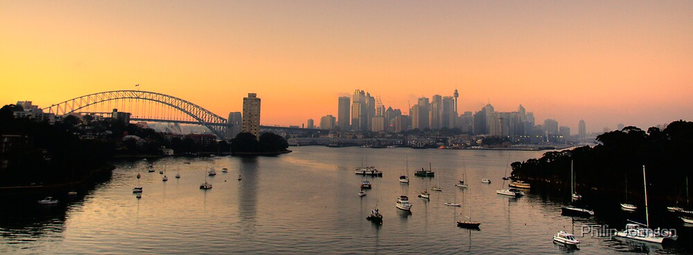 "Perfection - ""The Final Cut""- Sydney Harbour Morn - Moods Of A City # 32 - THe HDR Series by Philip Johnson"