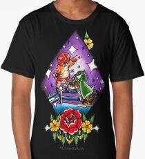 Wrestling Kitties  Long T-Shirt