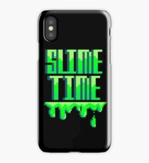 SLIME TIME - A TIME FOR SLIME iPhone Case/Skin