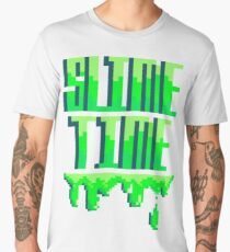 SLIME TIME - A TIME FOR SLIME Men's Premium T-Shirt