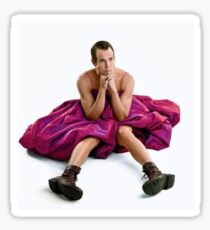 Will Arnett in a Dress Sticker