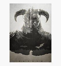 Skyrim DragonBorn Poster Photographic Print