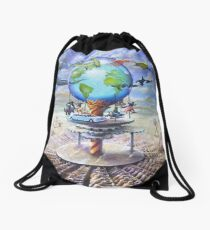 Carousel II Drawstring Bag