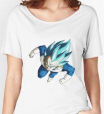 Vegeta God Blue Women's Relaxed Fit T-Shirt