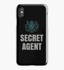 SUPER SECRET UNDERCOVER AGENT iPhone Case