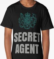 SUPER SECRET UNDERCOVER AGENT Long T-Shirt