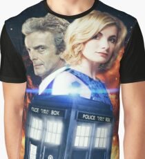 Doctor Who - The 13th Doctor and The 12th Doctor Graphic T-Shirt