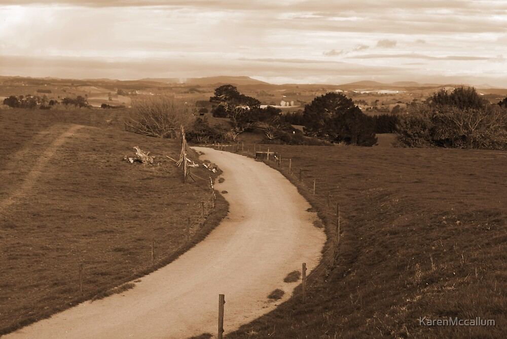 Waiting for the cows by KarenMccallum