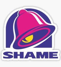 SHAME OF THRONES  Sticker