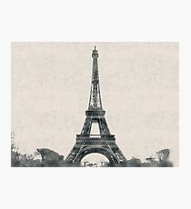Eiffel Tower, Paris, France - Eiffelturm, Frankreich Photographic Print