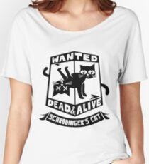 Schrodinger's cat is dead and alive Women's Relaxed Fit T-Shirt