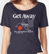 Get Away – Upstate New York Women's Relaxed Fit T-Shirt