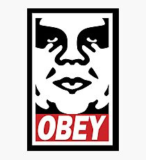 Obey-giant Photographic Print
