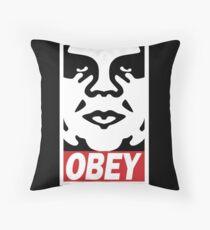 Obey-giant Throw Pillow
