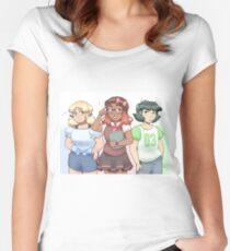 Powerpuff Women's Fitted Scoop T-Shirt