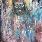 The shroud - Tshirt Art  by Yianni Digaletos