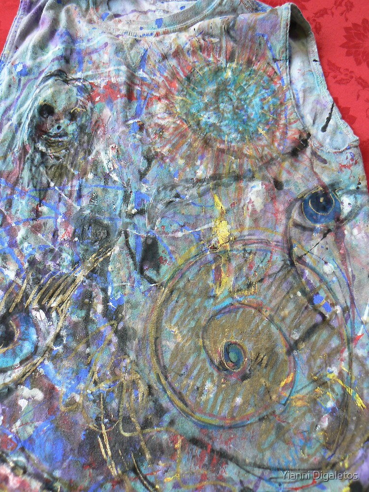 Untitled Tshirt Art by Yianni Digaletos