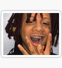 Trippie Red Sticker