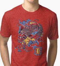 Koi t-shirt Tri-blend T-Shirt