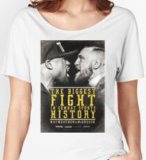 MCGREGOR VS MAYWEATHER Women's Relaxed Fit T-Shirt