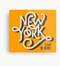 New York State of Mind Metal Print