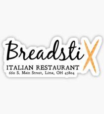 Breadsticks, Lima, Ohio, GLEE Sticker