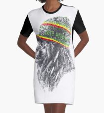 Leon Rasta T-Shirt Kleid