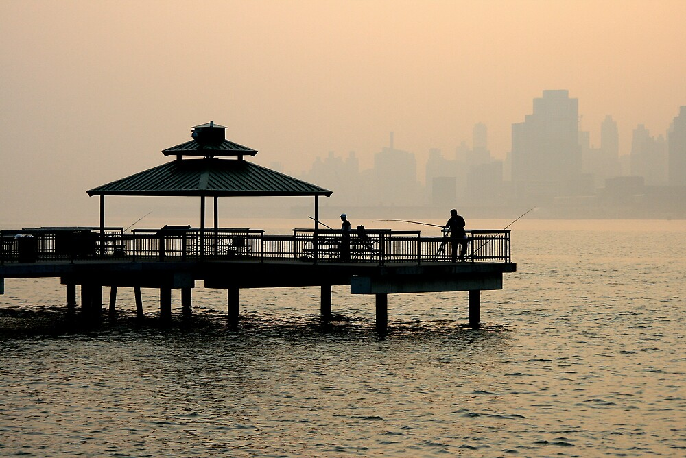 Fishing on the Hudson river ! by pmarella
