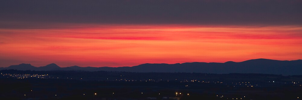 West Lothian Sunset by Chris Clark