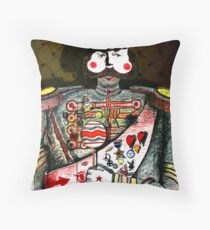 Soldier of Fortune Throw Pillow