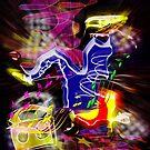 HipHop Dancer 2 by Daniel H Chui
