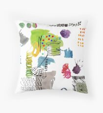 painted hope  Throw Pillow