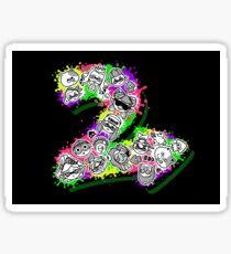 Spla2n Sticker