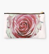 Faded Pink Rose Studio Pouch