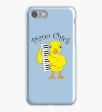 Piano Chick Text  iPhone Case/Skin